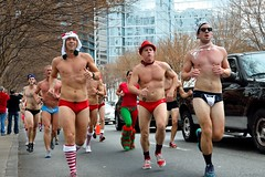Atlanta Santa Speedo Run 2012 (TimothyJ) Tags: santa christmas xmas atlanta ga georgia atl run midtown speedo