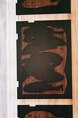 08950003-16 (jjldickinson) Tags: olympusom1 fujicolorsuperiaxtra400 roll395 promastermcautozoommacro2870mmf2842 promasterspectrum772mmuv kilroyairportcenter parkinggarage print printmaking card laserengraving cherry wood woodblock carving mokuhanga green longbeach