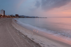 Playa de el Campello ( calvin1961) Tags: campello playa elcampello sea costa beach alicante alacant comunidadvalenciana espaa spain mediterranean sunrise amanecer