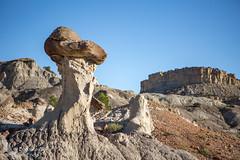 HooDoos galore (Squirrel Girl cbk) Tags: cliff newmexico sandstone erosion hoodoo badlands geology caprock mushroomrock sanjuanbasin nacimientoformation sanjoseformation