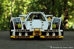 Lego Technic - Porsche OTR-666 (Desert Eagle Lego Technic Creations) Tags: lego legotechnic technic porsche car supercar sportcar