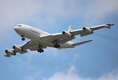 Boeing 707-300C N624RH, Omega Tanker, Myrtle Beach, South Carolina, Summer 2016, (2) (hondagl1800) Tags: boeing707300cn624rh omegatanker myrtlebeach southcarolina summer2016 boeing707 aircraft airplane blue outdoor vehicle