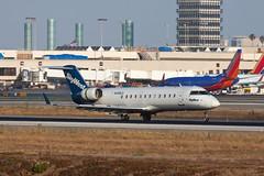 SkyWest Airlines Bombardier CRJ-200ER N498CA (jbp274) Tags: airport airplanes lax oo crj bombardier skywest klax