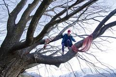 (Bronte Lockwood) Tags: wanaka queenstown new zealand aspiring national park hippie travel sky tree blue scarf live love life