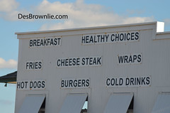 Healthy Choices ? (DesBphotos) Tags: sign signs food healthyfood healthy fastfood fast newjersey jerseyshore shore beach boardwalk ocean breakfast lunch dinner hamburgers hamburger frenchfries french fries cheesesteaks cheese burgers hotdogs hot njshore nj