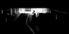 Humpty Dumpty (Sean Batten) Tags: london england unitedkingdom gb barbican blackandwhite bw streetphotography street city urban nikon df 60mm wall