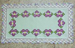 34 (AneloreSMaschke) Tags: tecido xadrez bordado artesanato flores