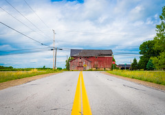 Somewhere in Buffalo, NY.... (Rodrigo Montalvo Photography) Tags: buffalo ny newyork farm antique old shed road roadtrip rodrigomontalvo connecticutphotographer countryside rustic hapy happy outdoor landscape unexplored barn stable