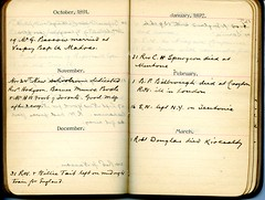 Diary of Robert Wallace p.25 (Community Archives of Belleville & Hastings County) Tags: 1880s 1890s 1900s 1910s 1920s diaries homechildren