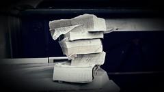 Reciclaje lexicogrfico (melibeo) Tags: diccionario dictionary libros books reciclaje recycling papel paper