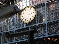Main clock at St Pancras Intl Station. (DesiroDan) Tags: highspeed1 stpancrasinternationalstation eurostar railwaystationsintheuk