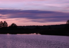 (careth@2012) Tags: sunset nature landscape scene scenery scenic view reflections silhouette reflection