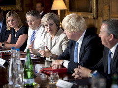 PM holds Chequers Cabinet (The Prime Minister's Office) Tags: tomevans theresamay primeminister cabinet chequers brexit meeting ministers uk economy society