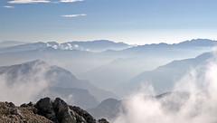 Peaks corollary around Vallagarina from Pozzette top (Mount Baldo range) (ab.130722jvkz) Tags: italy alps venetianprealps veneto trentino easternalps mountains