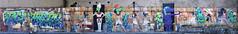 The Egyptian Gods (HBA_JIJO) Tags: streetart urban graffiti art france artist hbajijo wall mur painting letters fresque aerosol peinture lettrage lettres lettring writer murale paris93 spray panorama fdcrew god egypte dieux anubis r