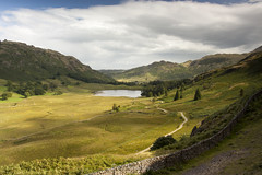 Blea Tarn (Dan Kemsley) Tags: lake district blea tarn pavey ark valley fells scarfell pike summit dan kemsley mountains hills