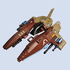 Yaeyama D3 - VV (Fredoichi) Tags: fighter lego space spaceship vv shootemup starfighter gradius shmup microscale vicviper fredoichi