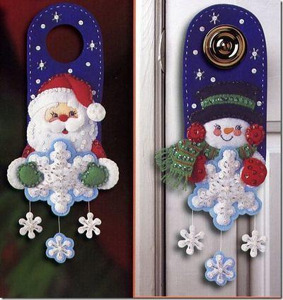 puertas decoracion navidad