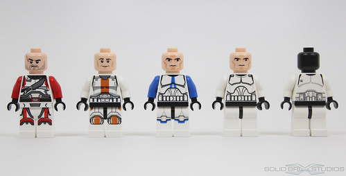 LEGO Star Wars 2013 Figure Comparison