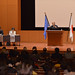 UN Women Executive Director Michelle Bachelet attends a symposium sponsored by Japan Liaison Conference for the Promotion of Gender Equality