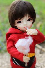 Cotton Candy (Arisuyuki) Tags: boy cute asian doll candy body innocent coton sweets bjd dollfie eiri spiritdoll dollmore yosd babylamb eirien babylambmiadoll miasbabydollaga dollmoreaga arisuyuki