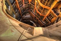 On utilizing space for particular purpose - Casa Milà # 7, Antoni Gaudí (JoLoLog) Tags: barcelona spain modernism catalonia canoneos20d catalunya casamilà lapedrera moshe antonigaudí gothicstyle eixampledistrict geniusarchitect 92passeigdegràcia