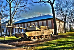 One of Many Tanks in Cantigny Park in Wheaton, IL (J N Junker) Tags: hdr tanks cantignypark wheatonil robertmccormick highdensityresolution