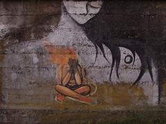 fuego; dentro-fuera (Felipe Smides) Tags: mural fuego valdivia smides niconoclasta