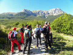 Escursionismo Gran Sasso - Gole dell'Inferno Spaccato