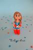 Captain America Girl cake topper (The Sugar Studio ni) Tags: birthday boy woman man girl cake america handmade decoration super made captain hero figure superhero custom figurine edible topper fondant customised personalised gumpaste sugarstudioni