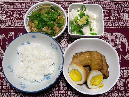 2012年4月26日の晩ご飯