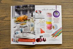 Canadian Living 2012 Gift Guide (the workroom) Tags: magazine press lasercut canadianliving theworkroom giftguide crossstitchpendant cosmoembroideryflosspress