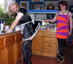 serving cruel mistress becca # 5 (gillian .) Tags: stockings french tv dress lace dom feminine cd sub tights apron transgender mature tranny blonde transvestite heels service suspenders maid crossdresser ts bullwhip tg minidress frill pantihose housemaid