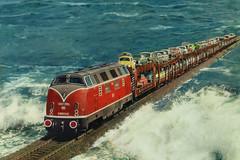 Germany - Hindenburgdamm - Sylt (railasia) Tags: germany postcard rail northsea sylt rarity hindenburgdamm