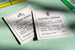 Games Public Utilities (StockMonkeys.com) Tags: public water electric bills creative commons games infrastructure utilities