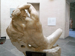 Barberini Faun, back