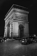 Arc de Triomphe (pentaxgoose) Tags: white black paris color tower de high cool pentax arc triomphe eiffel iso 1770 k5iis