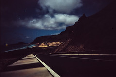 Full moon landscape, Cabo Verde (Aris Vrakas) Tags: nightphotography beach fullmoon caboverde capeverde minoltacle fujiprovia400x leica2828canadianversion