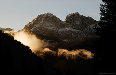 Gold of Alps (Cjasar) Tags: mountains alps montagne sunrise europe alba carnia alpi friuli siera alpicarniche fril cjargne siere dolomitipesarine jev