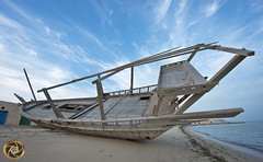 OLD SHIP (RASHID ALKUBAISI) Tags: nikon nikkor nano d3 doha qatar rashid d800 d4  d90     d3x nikond90 nikond4 alkubaisi d3s nikond3  nikond800 ralkubaisi nikond3s wwwrashidalkubaisicom wwwrashidalkubaisi
