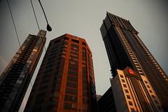 Melbourne (Victoriano) Tags: city sunset architecture buildings cities australia melbourne