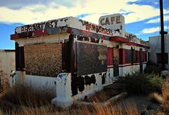 Cafe (Cragin Spring) Tags: arizona abandoned breakfast restaurant cafe route66 desert diner az hamburgers rt66 twinarrrows