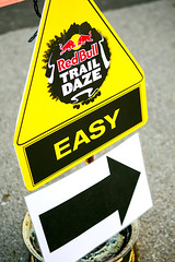 EASY Does It (TerryJohnston) Tags: mi race logo words dof bokeh michigan letters running run runners grandrapids arrow brand fonts redbull branding directional grap amazingmich traildaze canoneos5dmarkiii 5dmarkiii redbulltraildaze