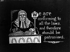 We are conforming to all the laws and therefore should be patronized