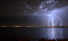 Electric Melbourne (wolfcat_aus) Tags: camera longexposure storm nikon brighton australia melbourne victoria strike lightning brightonbeach dx 18105mm d7000 nikkor18105mmf3556gedvr nikond7000