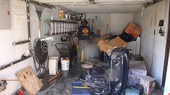 Flood damaged garage cleanout in NY after Sandy (The Trash it Man) Tags: hurricane cleanup howardbeach hurricanecleanup flooddamagecleanup hurricanesandy sandyaftermath