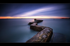Consolation (scott masterton) Tags: longexposure sunset st scott scotland pentax harbour fife masterton breakwater sigma1020mm nd400 monans vle k30 ndx400