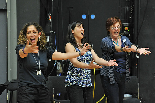 People taking part in the Royal Opera House's Voices of the Future programme  © 2012 ROH