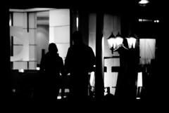 (Raymond Wealthy) Tags: lighting street girls shadow people bw black blancoynegro luz silhouette person blackwhite spain gente streetphotography silhouettes sombra bn story shade romantic silueta rue gens streetshot blanconegro poetical siluetta blancoenegro raymondwealthy