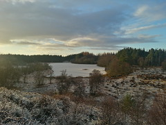 Evening light around Littlemill forest (duncan_ireland) Tags: winter scotland december frosty strathnairn littlemill inverarnie